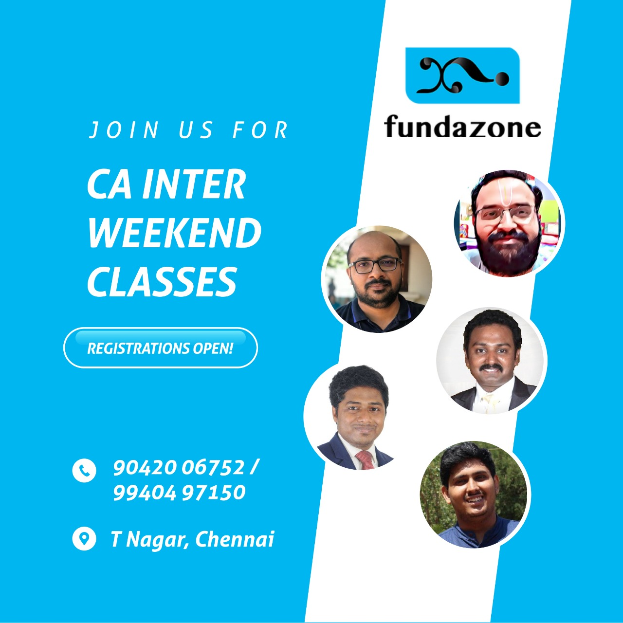CA Inter Weekend Classes