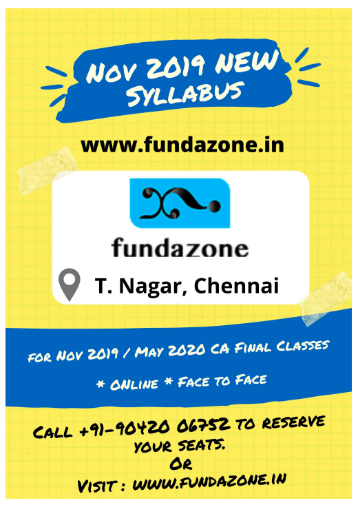 Download CA Final Nov 2019 Strategic Financial Management Questions ( New Syllabus )