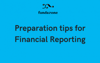 Preparation tips for Financial Reporting