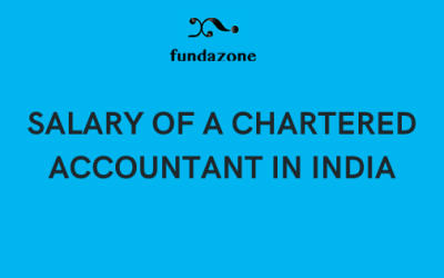 SALARY OF A CHARTERED ACCOUNTANT IN INDIA