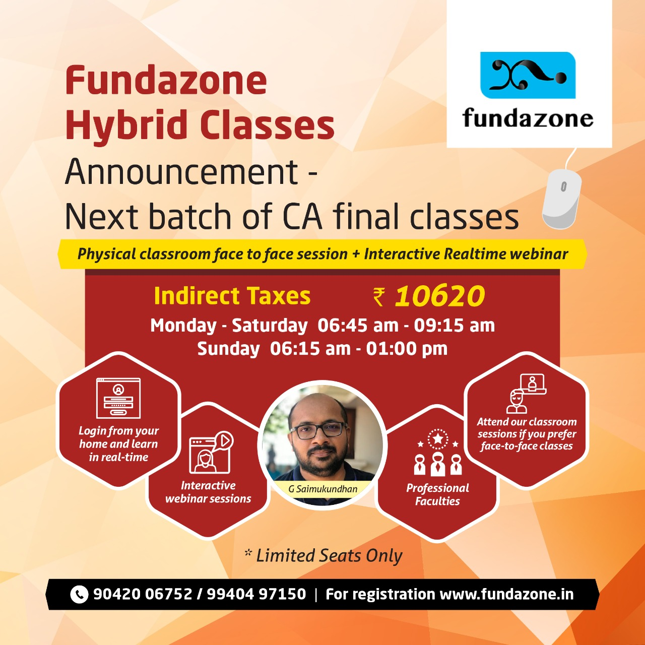 CA Final Indirect Taxes Classes