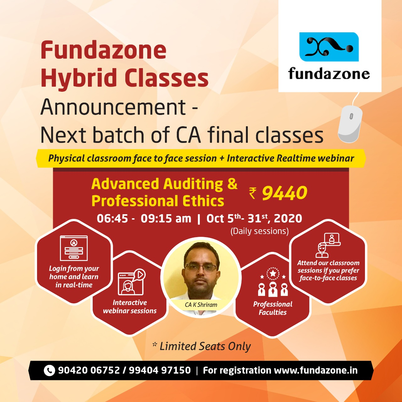 advanced auditing and professional ethics CA final classes