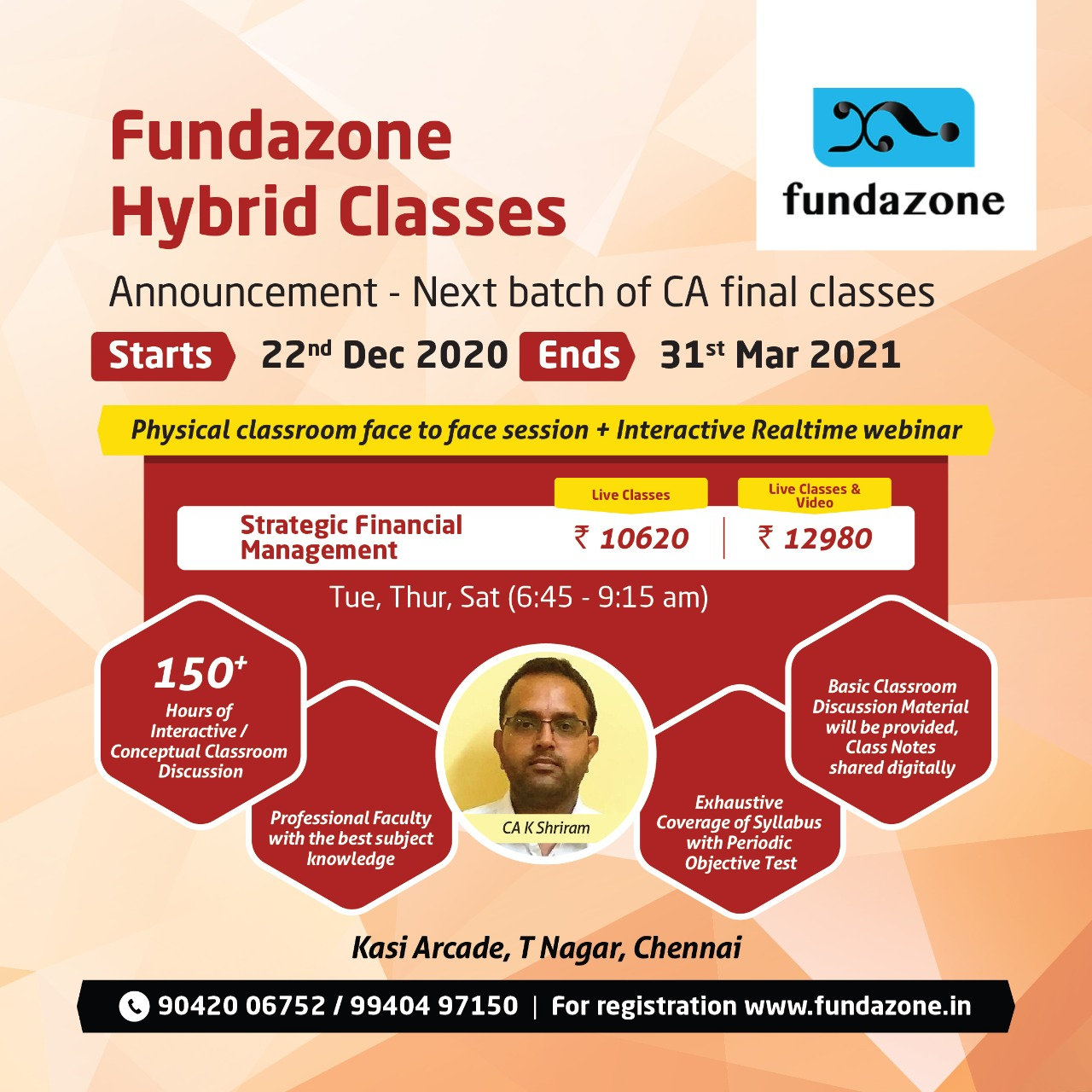 SFM Classes in Chennai