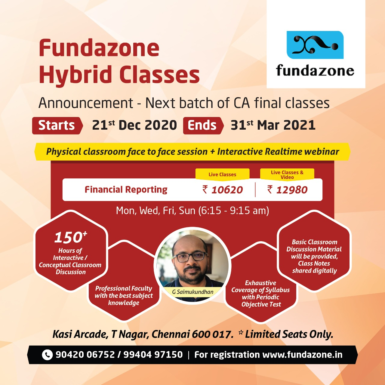 Financial Reporting Classes in Chennai